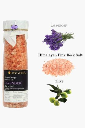 Lavender Himalayan Pink Rock Bath Salt - 500gm
