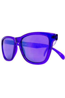 KNOCKAROUND Classic Premium Monochrome Unisex Sunglasses Purple-PRMC1006 (Use Code FB20 To Get 20% Off On Purchase Of Rs.1800)