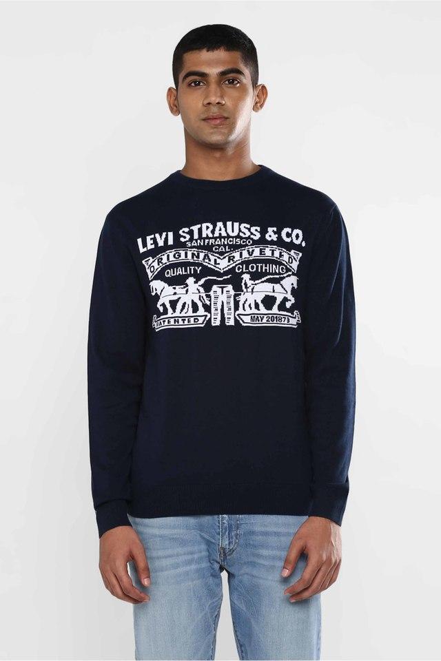LEVIS - NavyPullover & Cardigan - Main