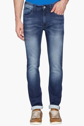 IZOD Mens Slim Fit Heavy Wash Jeans