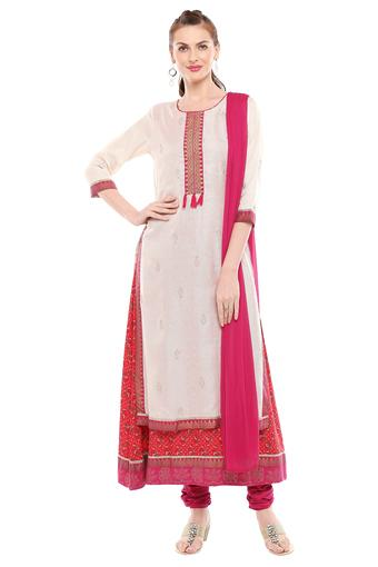 HAUTE CURRY -  RedSalwar & Churidar Suits - Main