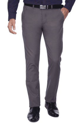 UNITED COLORS OF BENETTONMens Flat Front Slim Fit Solid Chinos - 9946434