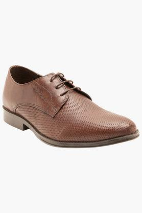 RED TAPE Mens Leather Lace Up Formal Derbys - 201181729