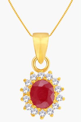 MALABAR GOLD AND DIAMONDSWomens 22 KT Gold Pendant - 201203558