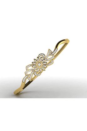 SPARKLESBangle 18Kt Gold & Real Diamonds - BG11006