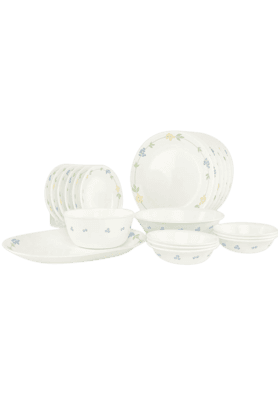 CORELLE Secret Garden (Set Of 21) - Dinner Set