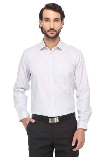 LOUIS PHILIPPE -  Light GreyFormal Shirts - Main