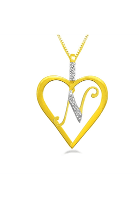SPARKLESHis & Her Collection 92 Kt His & Her Diamond Pendants In 925 Sterling Silver Diamond HHP8400-92KT
