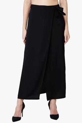 ANDWomen's Tie-Up Wrap Skirt