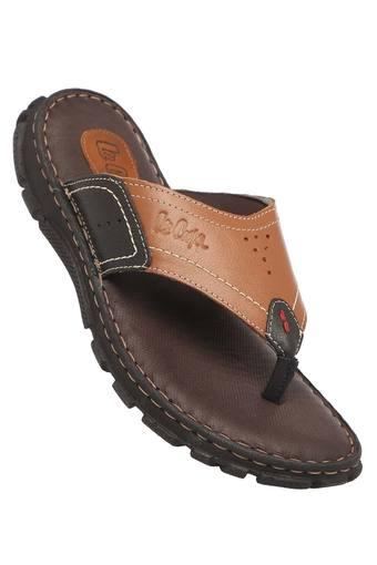 LEE COOPER -  Brown Slippers & Flip Flops - Main