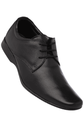 FRANCO LEONE Mens Leather Lace Up Formal Shoe