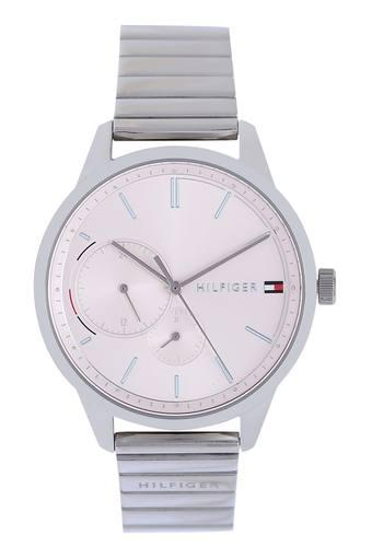Mens Off-White Dial Metallic Analogue Watch - TH1782020