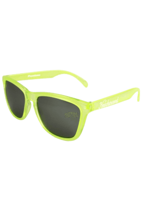 KNOCKAROUND Classic Premium Unisex Sunglasses Citrus/Smoke-PRGL1019 (Use Code FB20 To Get 20% Off On Purchase Of Rs.1800)