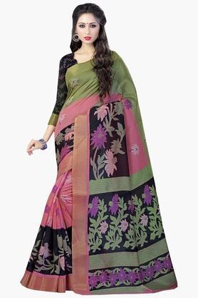 DEMARCAWomens Silk Designer Saree - 202338112