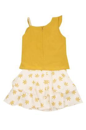 TINY GIRL - MustardCo-ordinates - 1