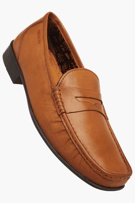 RED TAPEMens Leather Slipon Smart Formal Shoe