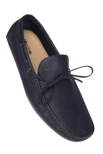 ALLEN SOLLY -  Navy Casuals Shoes - Main