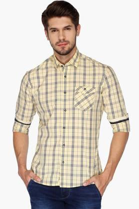 Killer Formal Shirts (Men's) - Mens Slim Fit Check Shirt