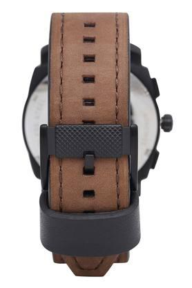 Mens Brown Dial Chronograph Watch - FS4656IE