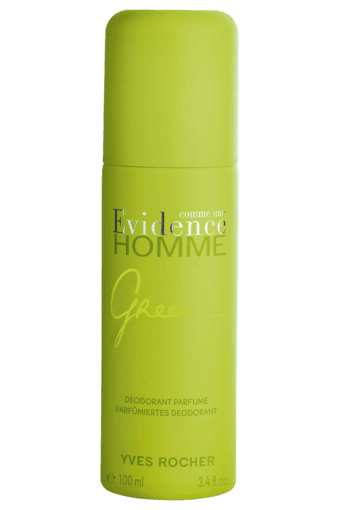 Buy Yves Rocher Comme Une Evidence Homme Green Deodorant Parfumed