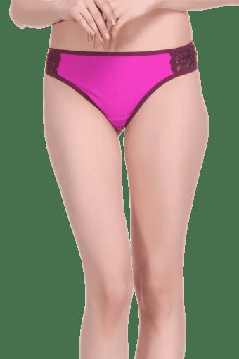 fb15fca7ef38 Buy CLOVIA Womens Polyamide and Lace Bikini Briefs | Shoppers Stop