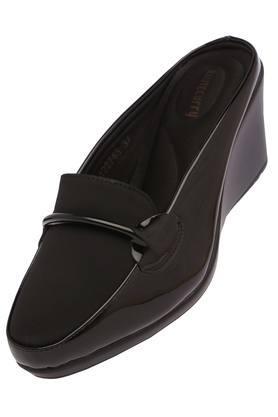 Womens Formal Wear Slip On Heeled Wedges