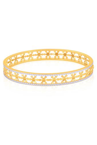 Womens Malabar Gold Bangle - Size 2 5