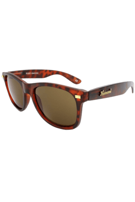 KNOCKAROUND Fort Knocks Unisex Sunglasses Matte Tortoise Shell/Amber-FKGL1023 (Use Code FB20 To Get 20% Off On Purchase Of Rs.1800)