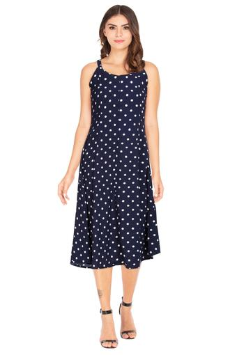 FRATINI WOMAN -  NavyPvt Women Western Buy 1 & Get 2nd At 20% Off  - Main