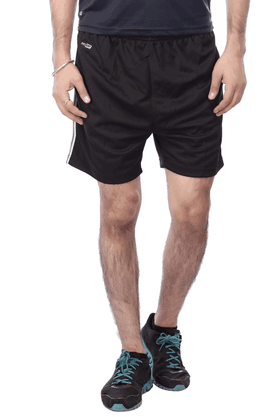 BLACK PANTHER Mens 2 Pocket Solid Shorts