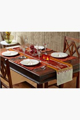 Multi Colour Multi Colour Table Linen (Place Mat Napkin Sets (12 pcs)