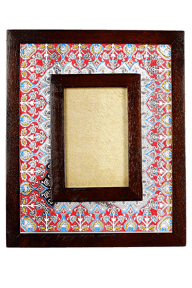 ADARA Indi Painted Photo Frame