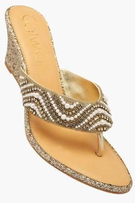 CATWALKWomens Ethnic Slipon Sandals