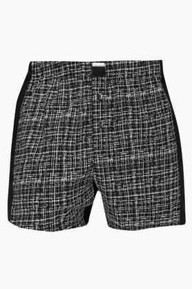 CALVIN KLEIN UNDERWEAR Mens Checkered Boxers