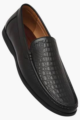 TRESMODE Mens Leather Slip On Formal Loafers  ... - 202252429