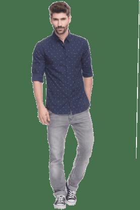 Mens Collared Neck Shirt