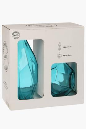 BACK TO EARTH Diamond Cut Vase - Set Of 2