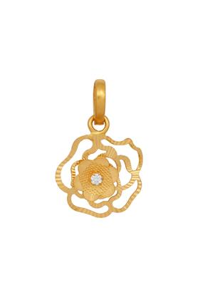 Womens Yellow Gold Pendant GLTD16009119