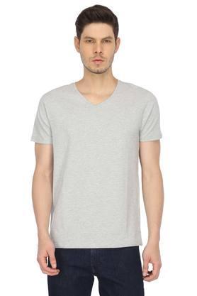 STOP - Grey MelangeT-Shirts & Polos - Main