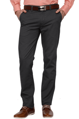 ARROW SPORTMens Flat Front Solid Chinos