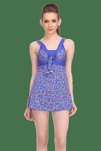 38ceab5e545a8 Buy CLOVIA Womens Floral Print Swim Dress | Shoppers Stop