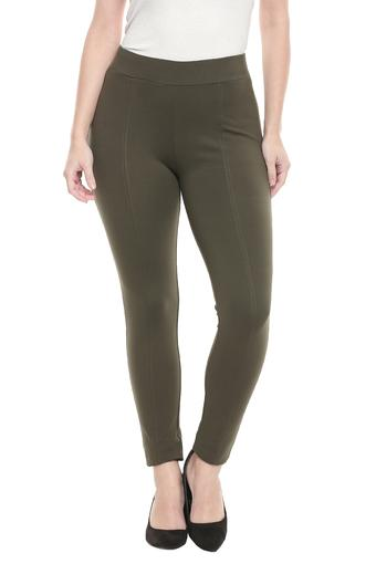FRATINI WOMAN -  OliveJeans & Leggings - Main