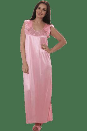 Women Comfort Satin Nightie
