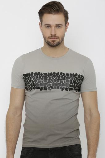 REX STRAUT JEANS -  GreyT-shirts - Main
