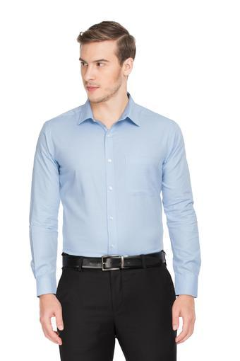 RAYMOND -  Mid BlueFormal Shirts - Main
