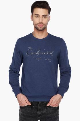 STOPMens Full Sleeves Round Neck Printed Sweatshirt - 201461214