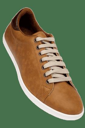 FRANCO LEONEMens Tan Casual Lace Up Shoe