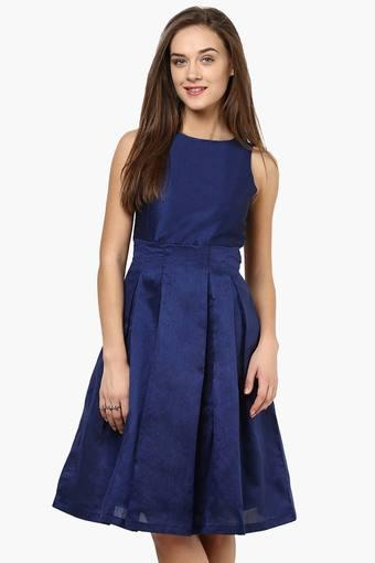 MISS CHASE -  Navy Dresses - Main