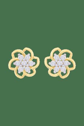 NAKSHATRAWomens 18KT Gold & Diamond Earring