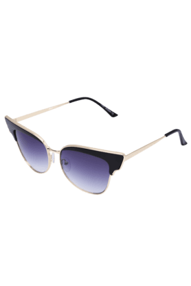 Women Cat Eye Full Rim Sunglasses-9789-C01